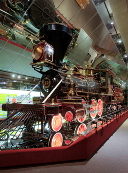 C.P. Huntington Steam Locomotive