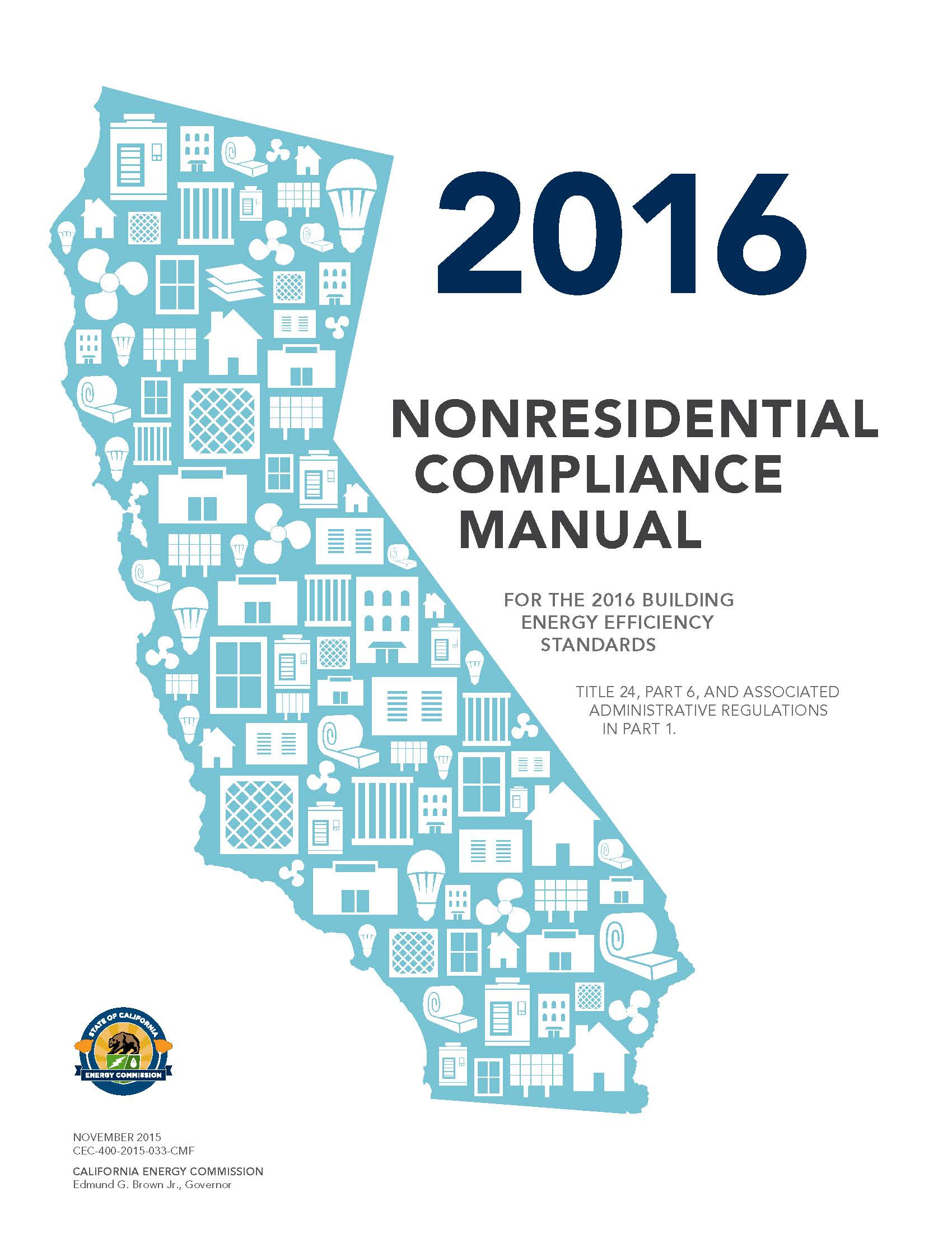 2016 CA Nonresidential Compliance Manual