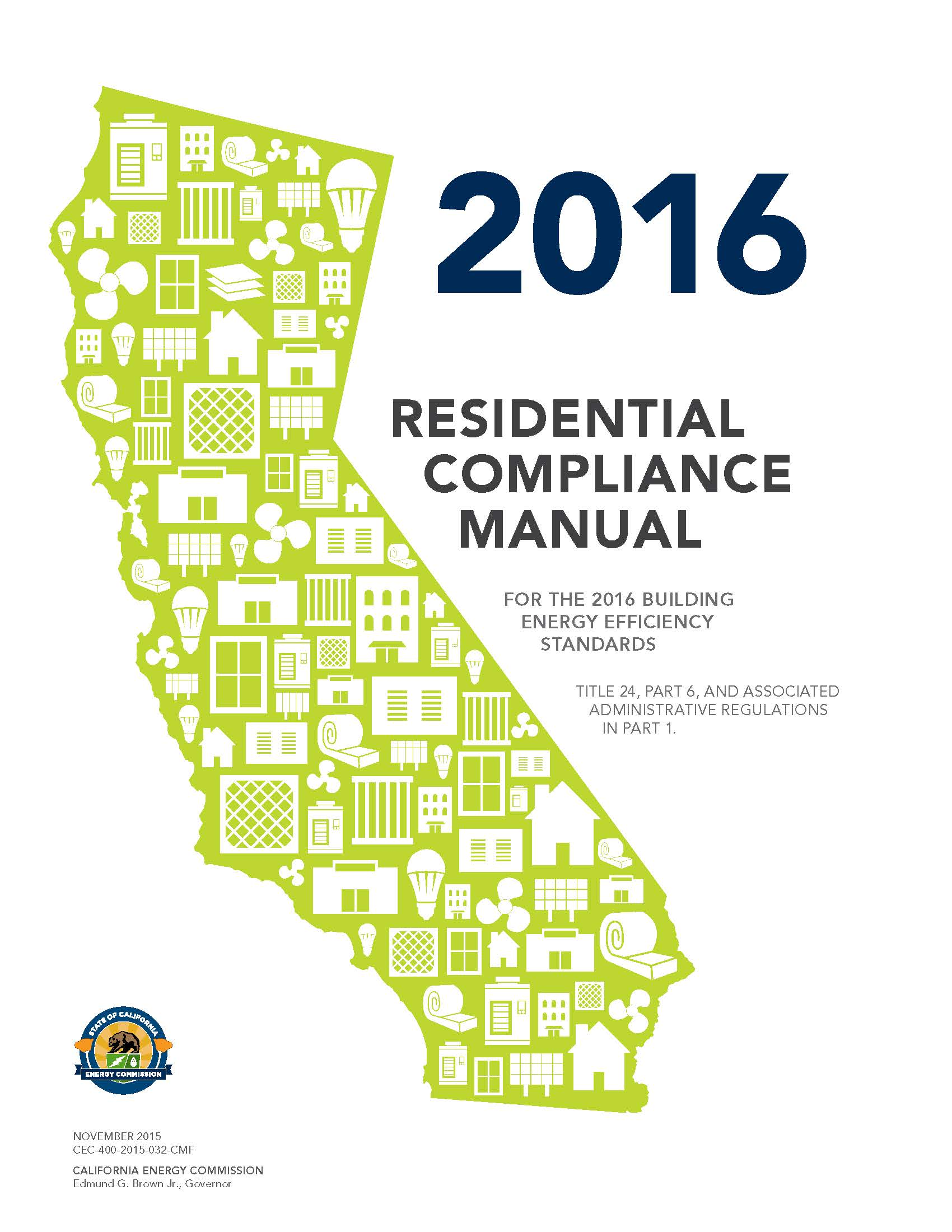 2016 CA Residential Compliance Manual
