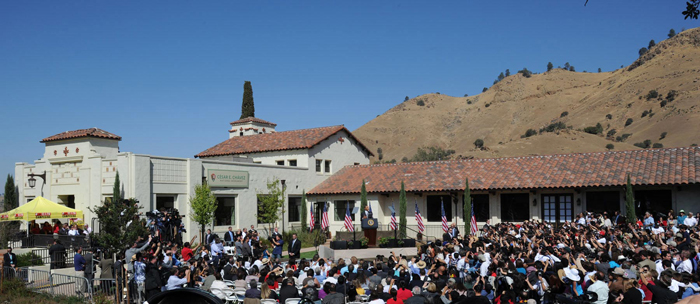 Dedication of the Cesary Chavez National Monument