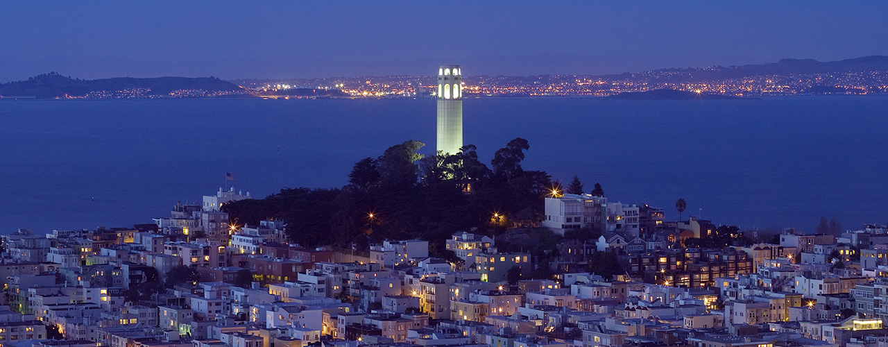 Coit Tower Banner