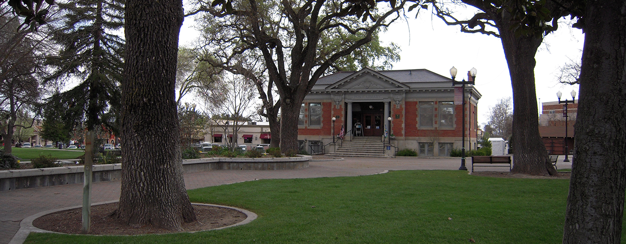 Paso Robles Carnegie Library Banner