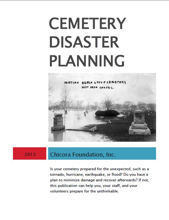 Cemetery Disaster Planning