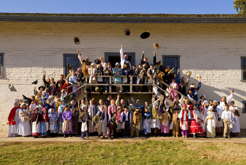 School Group at Sutter's Fort