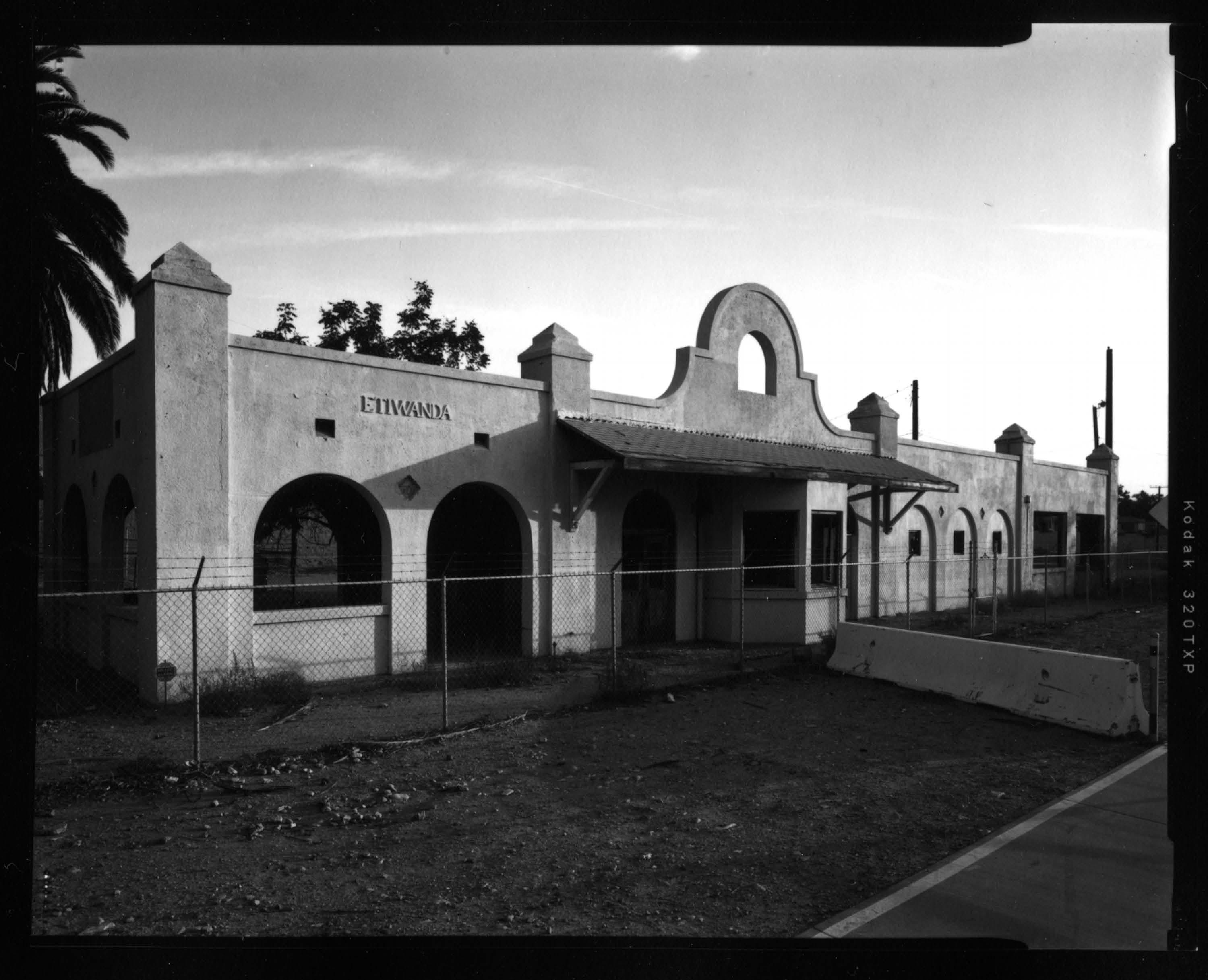 PHOTO: Pacific Electric Etiwanda Depot