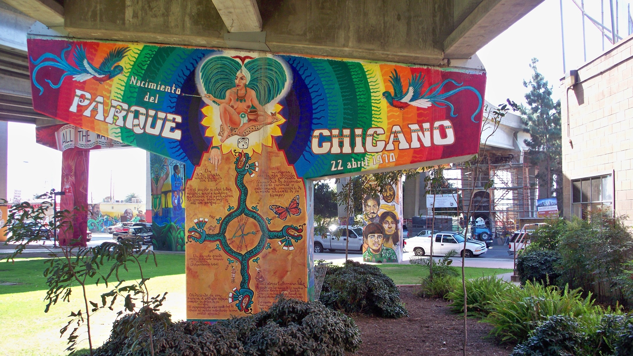 2012 actions taken for Chicano park mural