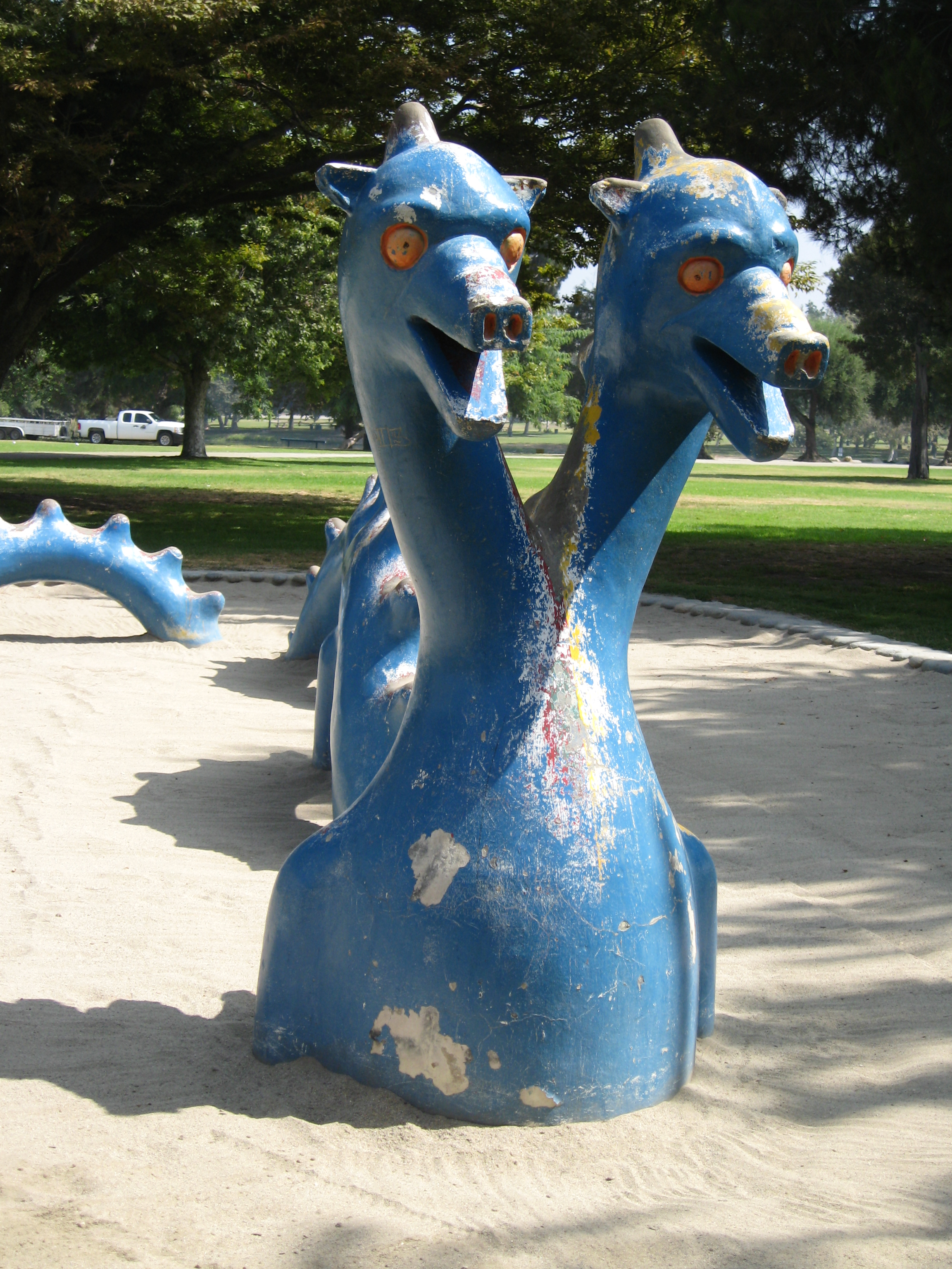 PHOTO: Legg Lake Play Sculptures