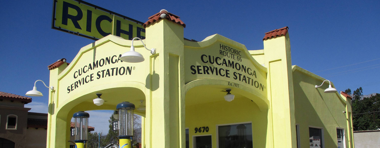 2018 Governor's Historic Preservation Awards - Cucamonga Service Station