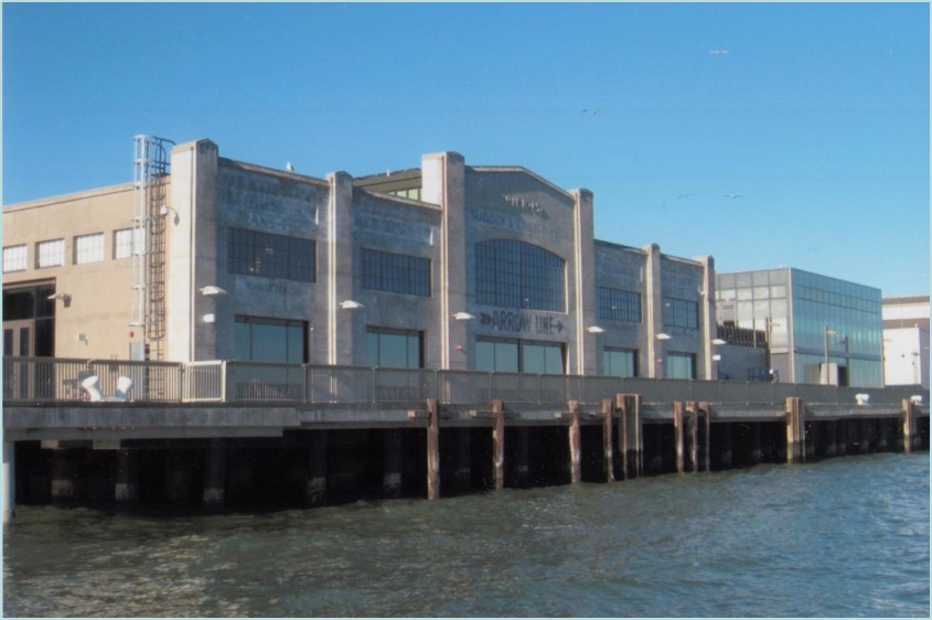 Pier 15 Bay elevation