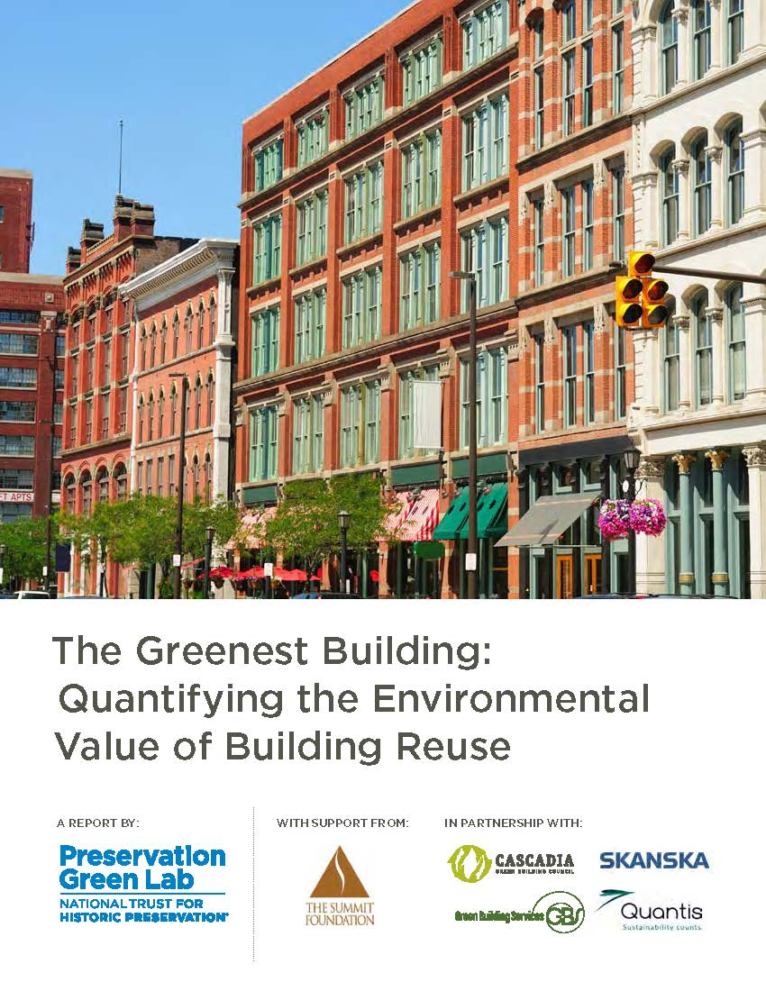 The Greenest Building Report
