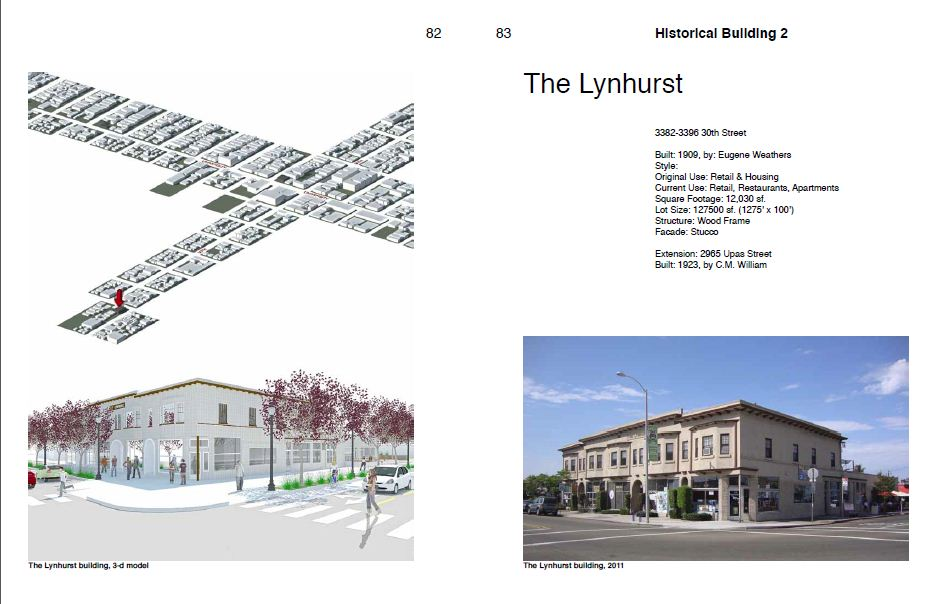 Report page showing North Park Historic Building 2