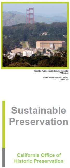 OHP sustainability brochure