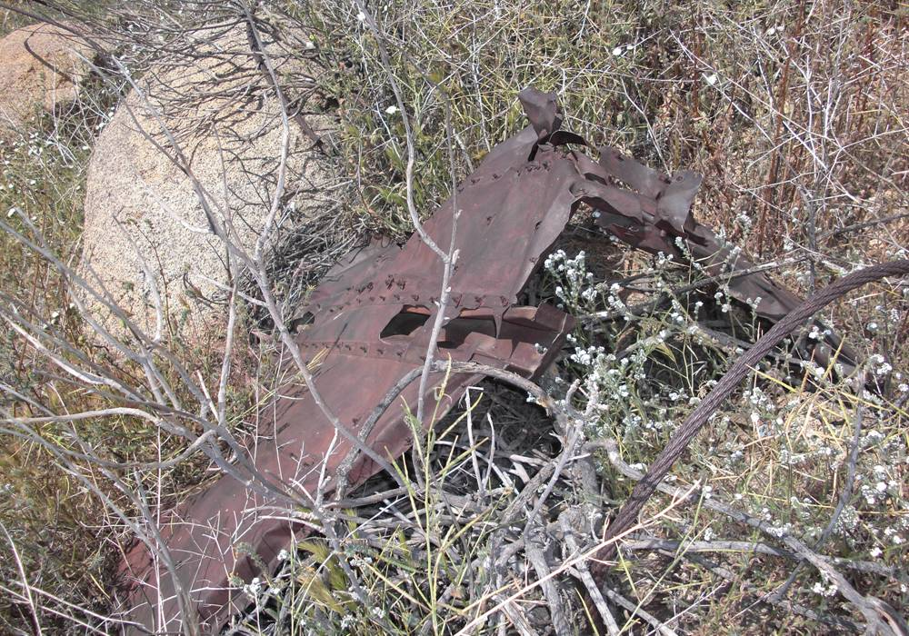 PHOTO: B-24 Liberator Crash Site