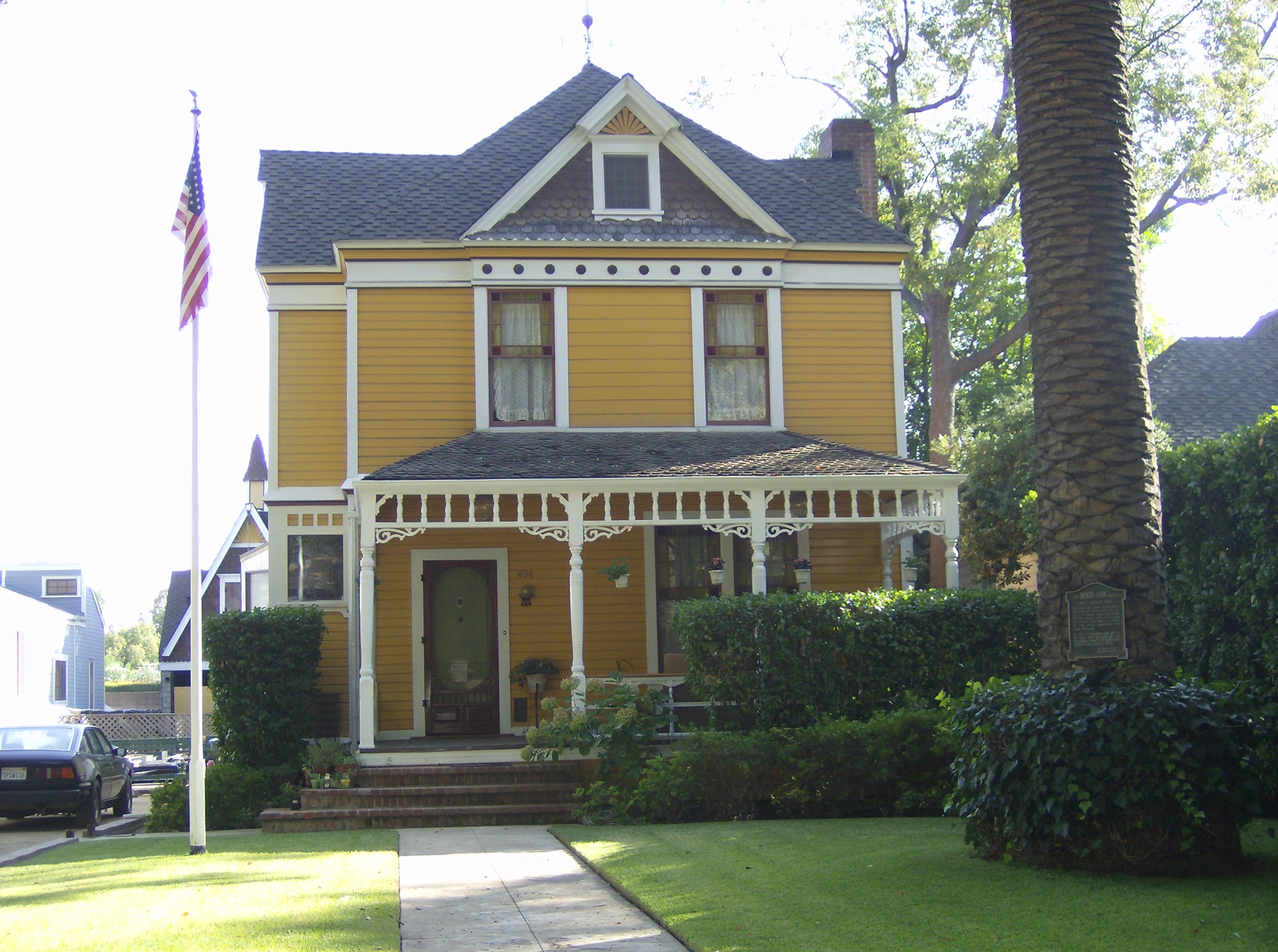 PHOTO: Mrs. J.H. Hood House