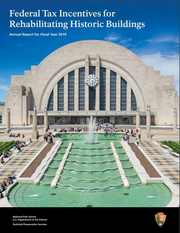 2019 Federal Annual Tax Report cover
